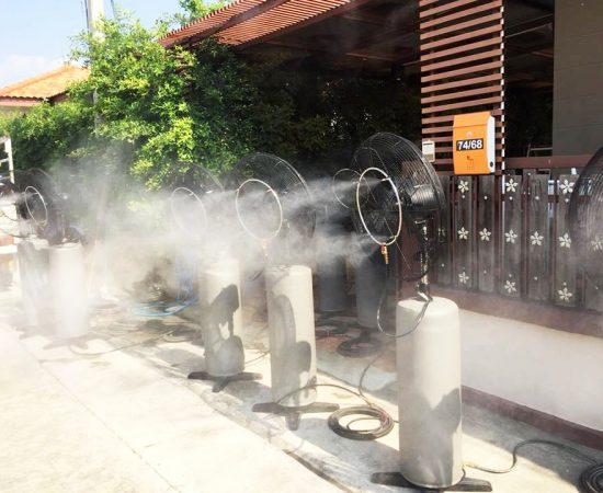 งานระบบพัดลมไอน้ำ
