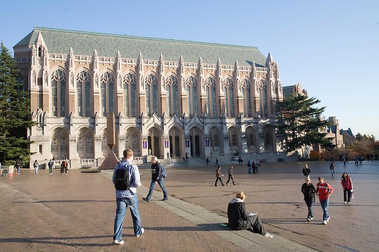 Seattle University of Washington Suzzalo
