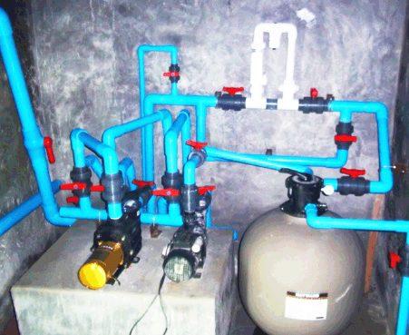 ผลงานระบบเครื่องกรองน้ำ
