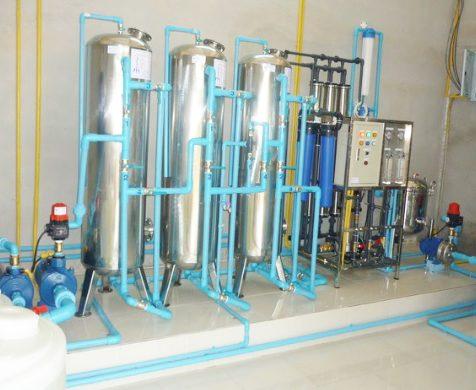งานระบบเครื่องกรองน้ำ