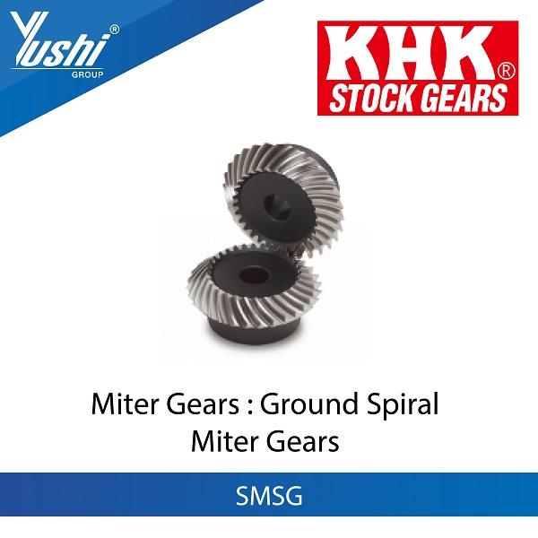 Ground Spiral Miter Gears