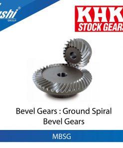 Ground Spiral Bevel Gears
