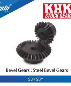 Steel Bevel Gears SB / SBY